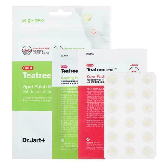 Патчи от прыщей Dr.Jart+ Ctrl-A Teatreement Spot Patch Kit (набор 66шт)