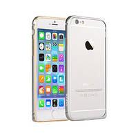 Бампер Vouni для iPhone 6/6S Buckle Curve Silver