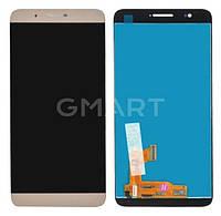 Дисплей Huawei Honor 7i золотистый (LCD экран, тачскрин, стекло в сборе)