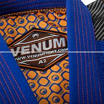 Кимоно для джиу-джитсу Venum Elite BJJ GI Royal Orange, фото 3