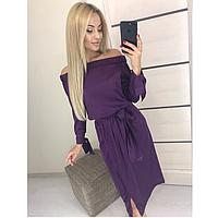 Элегантное женское шелковое платье