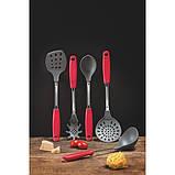 Кух.прибор TRAMONTINA Utilita нерж нейлон ложка кухонная красная ручка (25693/170), фото 2