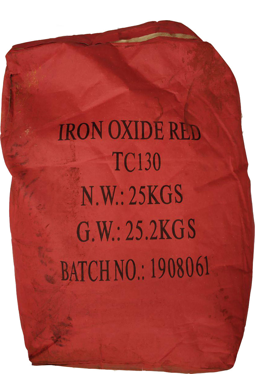 Пигмент красный железоокисный Tongchem TC130 сухой Китай 25 кг