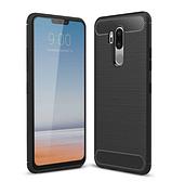 Чехол силиконовый TPU на LG G7 Black