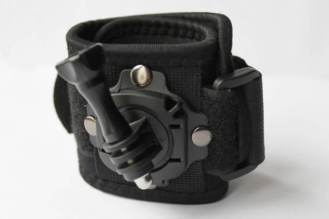 Крепление на руку, запястье GoPro 360°, фото 2