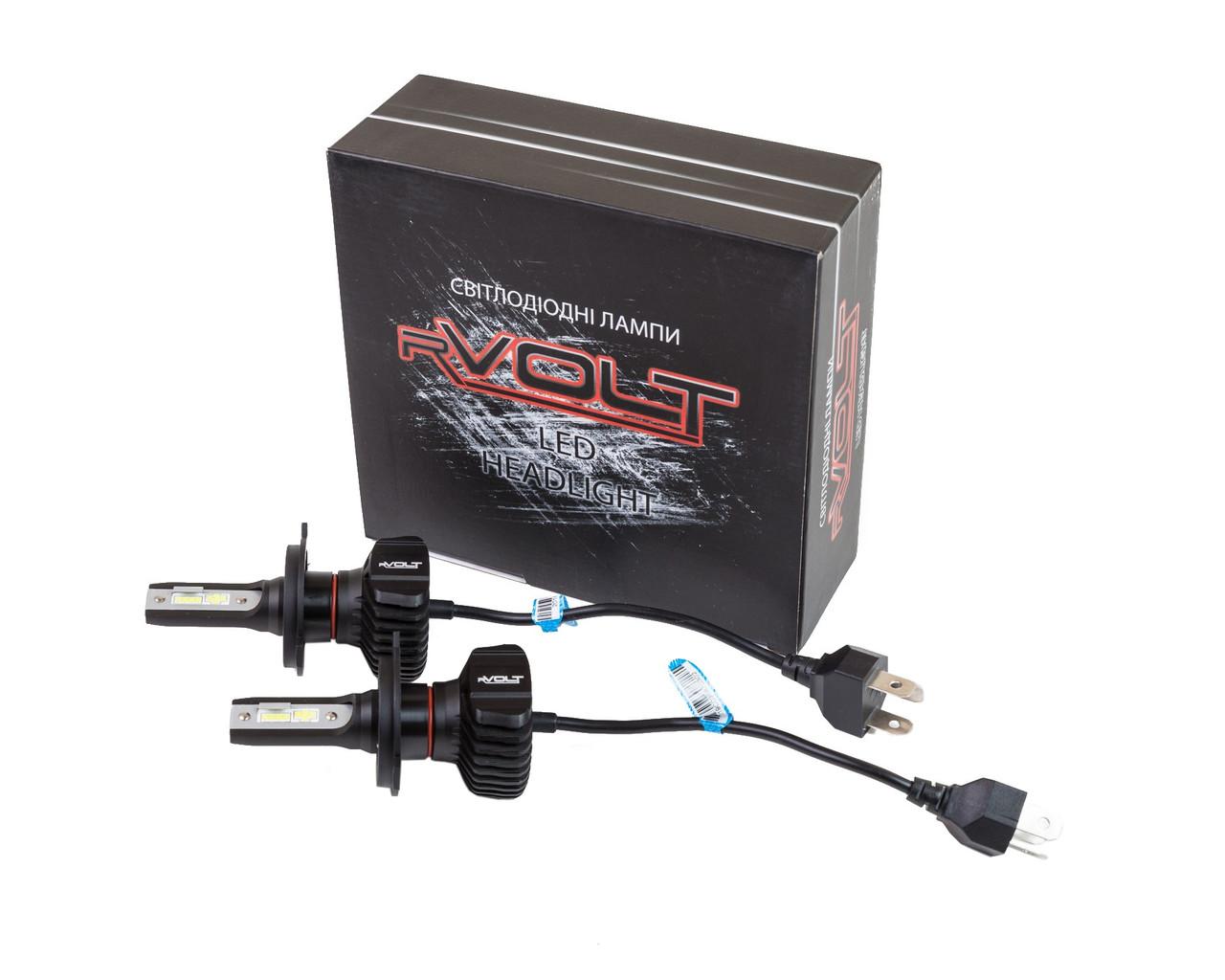 Светодиодные (LED) лампы rVolt RR02 H4 4500Lm (hub_jVAL57264)