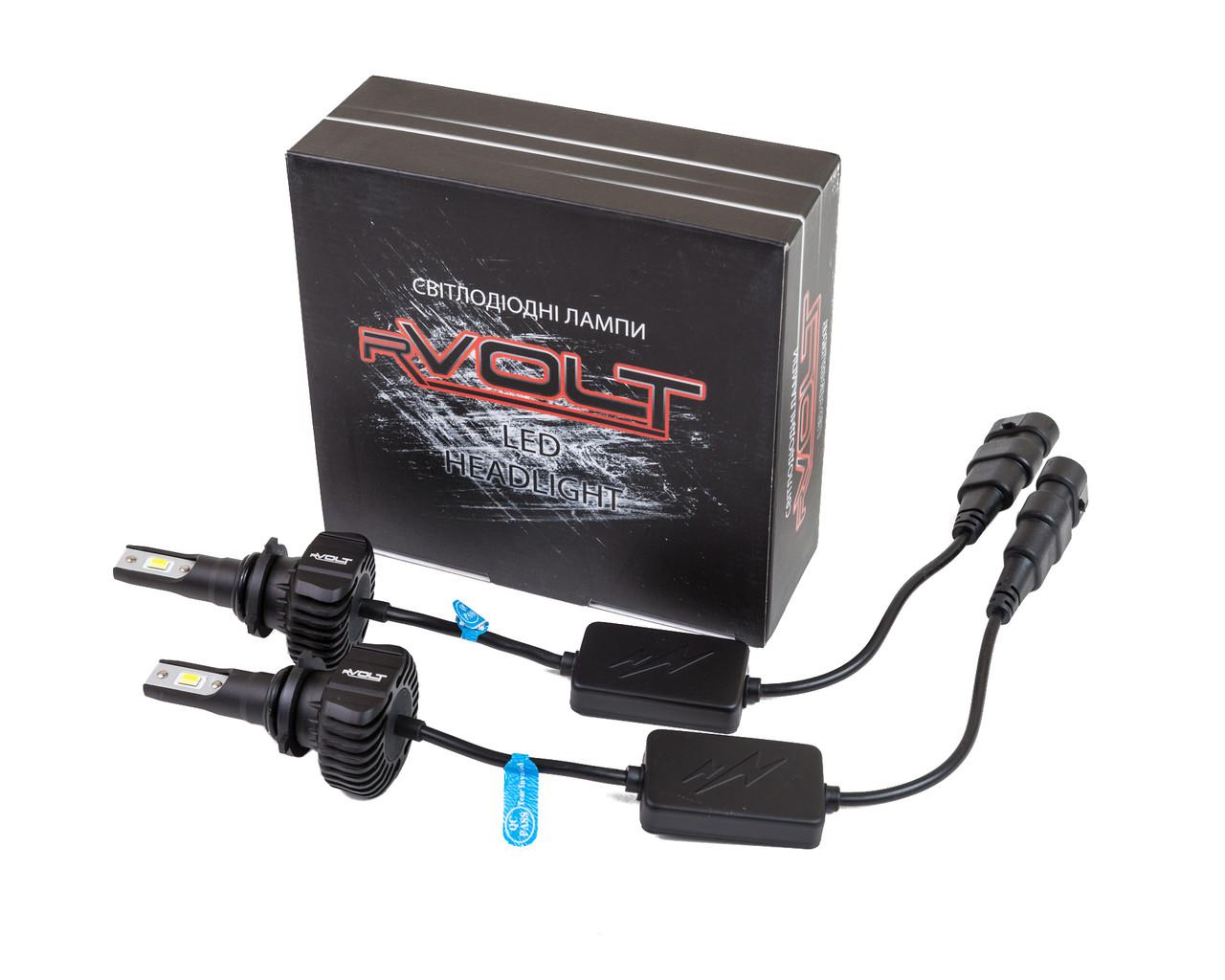 Светодиодные (LED) лампы rVolt RR02d HB4 (9006) dual color 4500Lm