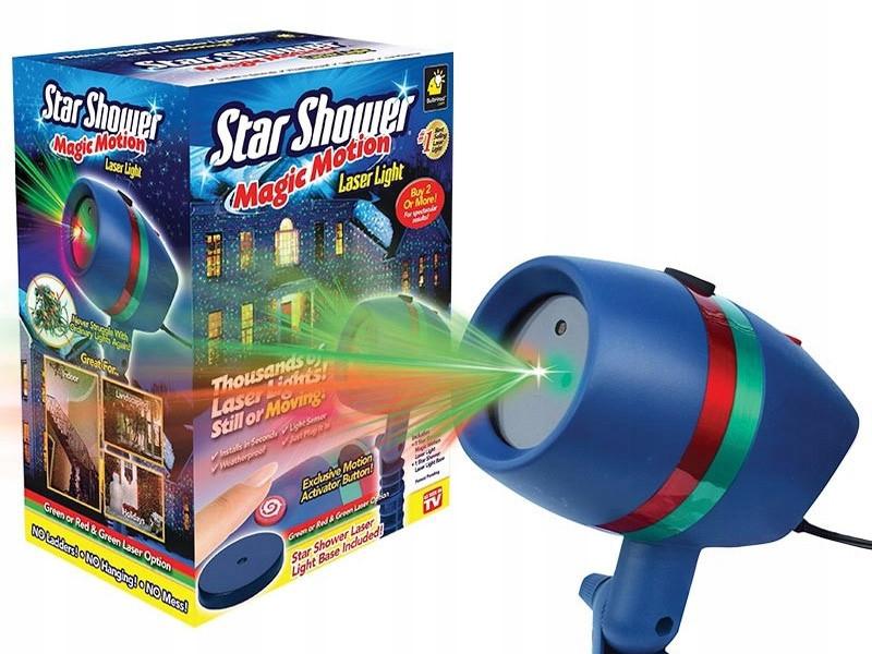 Декоративный лазерный проектор Star Shower Motion