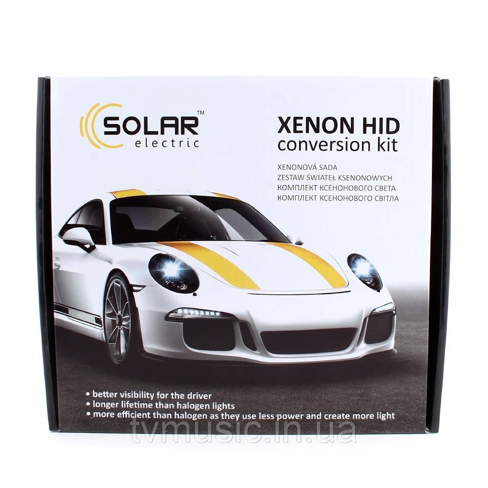 Комплект ксенона SOLAR H3 6000K 35W Ballast 4360