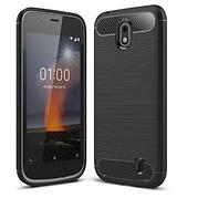 Чехол силиконовый TPU на Nokia 1 Black