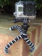 Гибкий штатив Осьминог (размер M) для телефона, GoPro, камеры,фотоаппарата