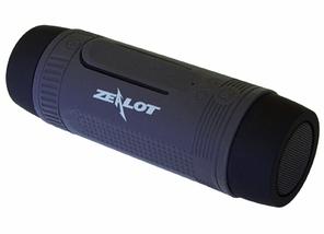 Портативна Bluetooth колонка Zealot S1 з функцією power bank і ліхтариком, фото 2
