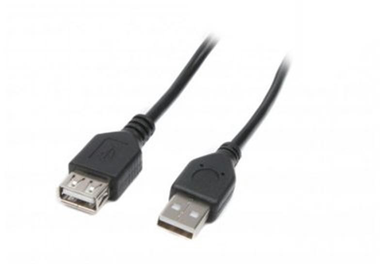 Кабель Maxxter (U-AMAF-6) USB 2.0 AM - USB 2.0 AF, 1.8м