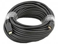 Кабель Cablexpert (CC-HDMI4-30M) HDMI-HDMI V.1.4, вилка/вилка 30м Black polibag