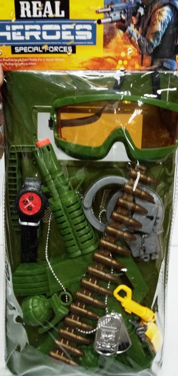 """Набор игровой  """"Commandos"""" зеленый 40 см"""