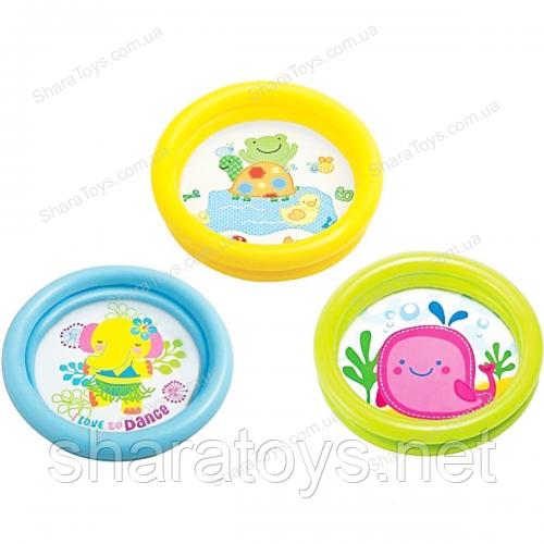 Детский надувной бассейн INTEX мини