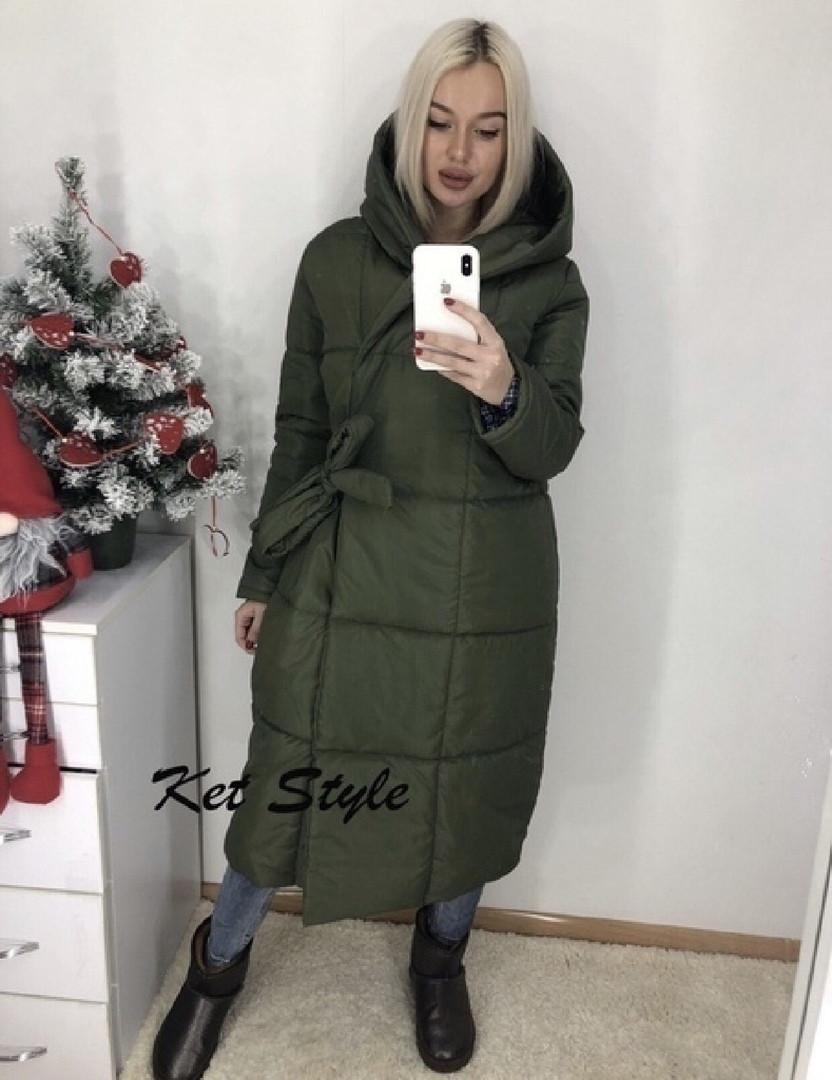 Куртка женская длинная зимняя 42-46 рр.
