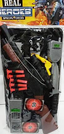 """Набор игровой  """"Commandos"""" черный 40 см, фото 2"""