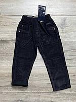Утепленные вельветовые брюки на флисе. 1 и 2  года.