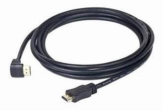 Кабель Cablexpert (CC-HDMI490-15) HDMI to HDMI V.1.4, вилка/угловая вилка 4,5 м черный, фото 2