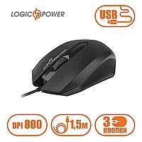 Мышь Logic Power LF-MS 070 полноразмерная, проводная USB