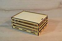 Дерев'яна коробка для пакування. Подарункова коробка.Ящик