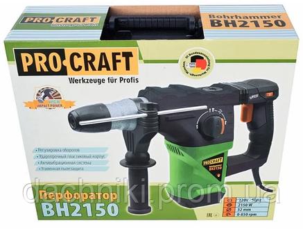 Перфоратор ProCraft BH-2150, фото 2
