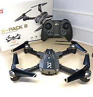 Квадрокоптер X-PACK 8 Wifi HD Wide 720p с опт. стабилизацией