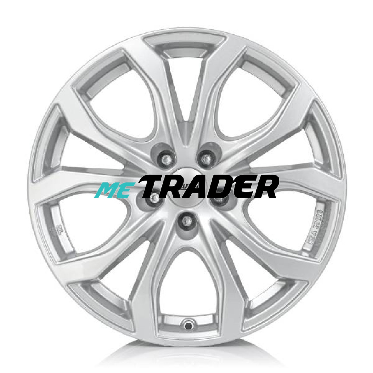 Alutec W10X R18 W8 PCD5x112 ET40 DIA70.1 Silver