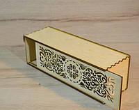 Деревянная коробка для упаковки. Подарочная коробка. Алкоголь, фото 1
