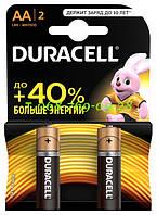 Щелочные батарейки Duracell AA (LR6) MN1500 Basic 12 шт