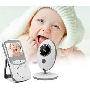 Беспроводная цифровая видеоняня (радионяня) VB605 с режимом ночного видения и термометром!