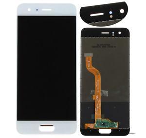 Дисплей модуль Huawei Honor 9  в зборі з тачскріном, білий, тип 1