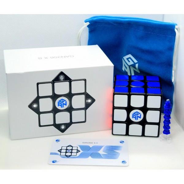 Кубик Рубика 3х3 GAN 356 XS magnetic (черный)