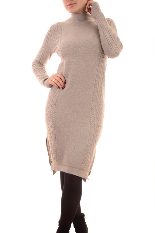Теплые трикотажные платья оптом Louise Orop (лот 8шт по 16Є)
