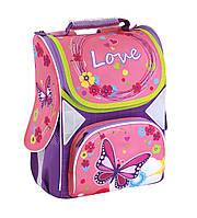 """Ранець шкільний каркасний портфель рюкзак 13,4"""", """"Love"""" 701, фото 1"""