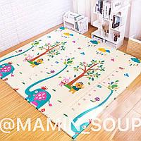 Детский коврик на пол Подарок ребёнку на Николая Новый Год