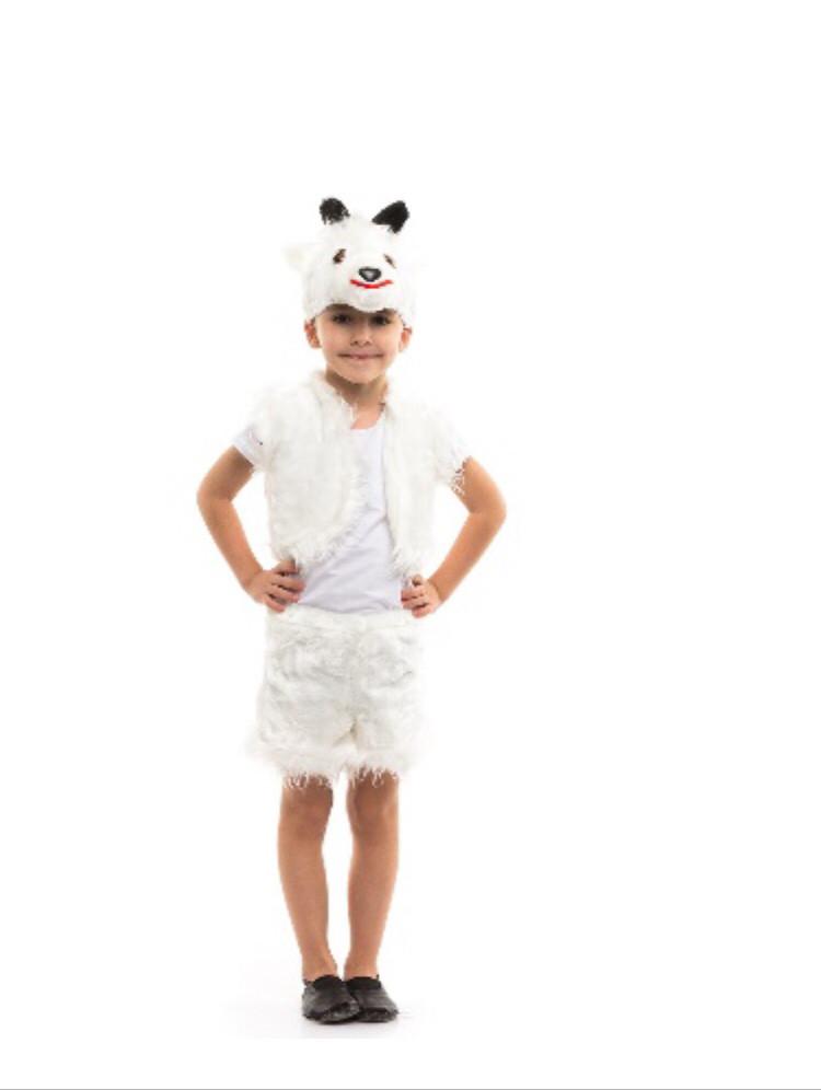 Карнавальный костюм Козлик белый