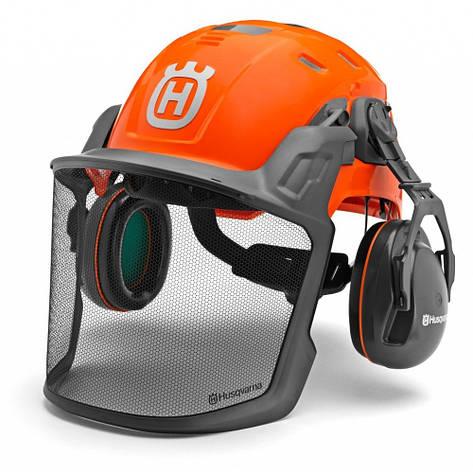 Шлем Husqvarna Technical. с наушниками   5850584-01, фото 2