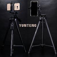 Професійний штатив для телефону Yunteng VCT 5208 (Оригінал)