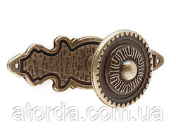 Ручка кнопка GIFF SD02 и GA11 Античная бронза