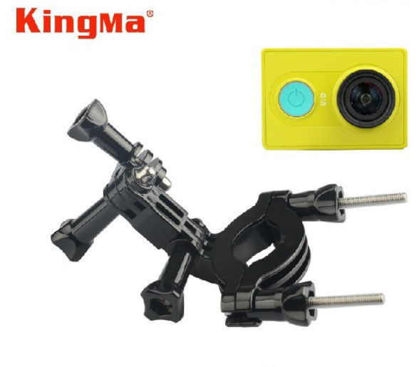Кріплення на велосипед/трубу для екшн камер (Handlebar/Pole Mount) з діаметром 1,5-2,5 см.