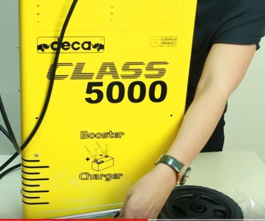 Конструкция пуско-зарядного устройства DECA CLASS BOOSTER 5000 E