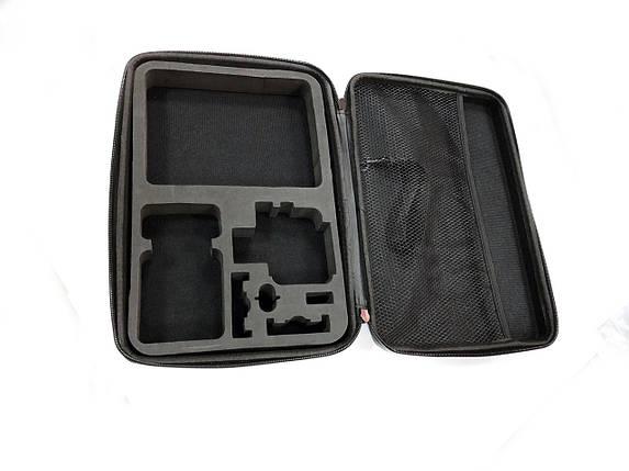 Кейс для аксессуаров GoPro, Xiaomi, SJCAM (carbon, large size), фото 2