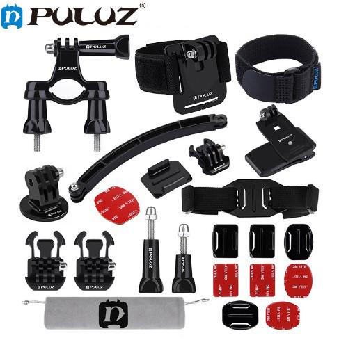 Набор креплений и аксессуаров 24в1 для Gopro и других экшн камер