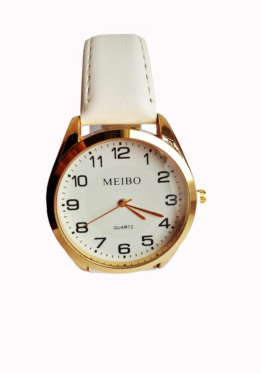 Часы кварцевые  Meibo Белый