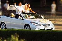 Кабриолет Toyota Solara белая