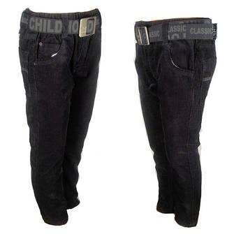 Теплые детские штаны для девочек и мальчиков