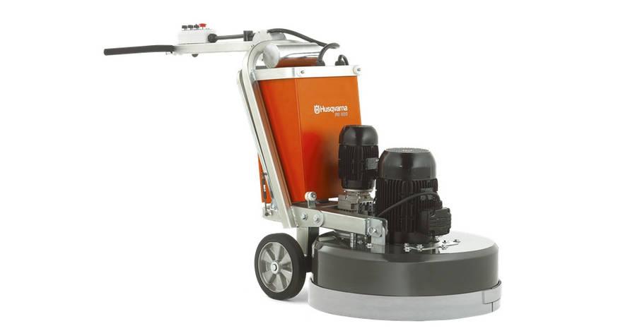 Машина для шлифовки бетонных полов PG820 3ф | Husqvarna | 9651956-07, фото 2