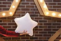 """Светящаяся подушка-ночник """"Звездочка"""""""